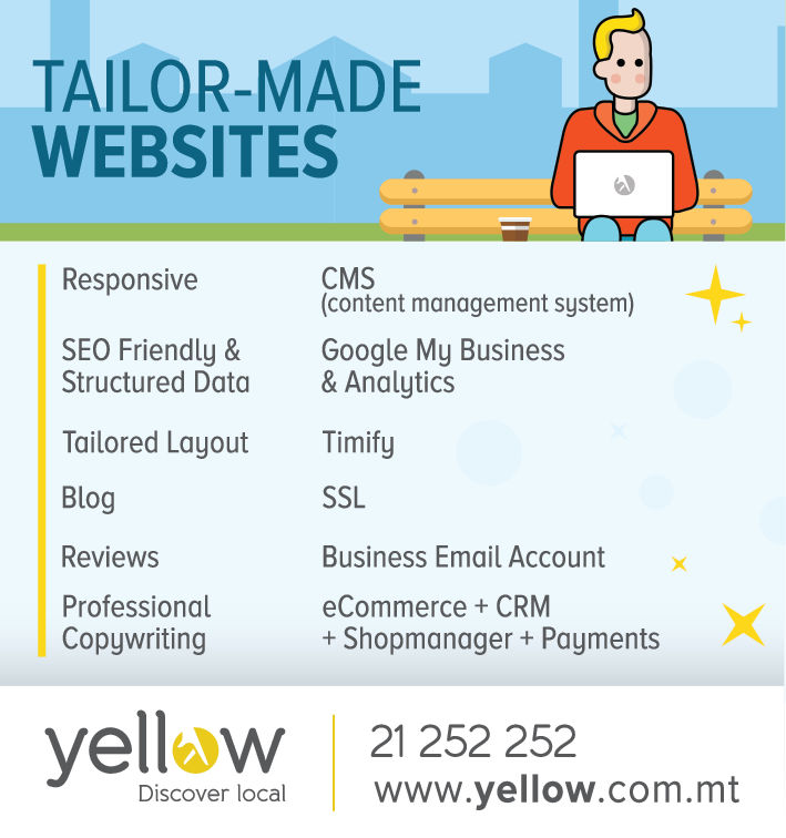 Yellow, Discover local - Website Designers & Developers