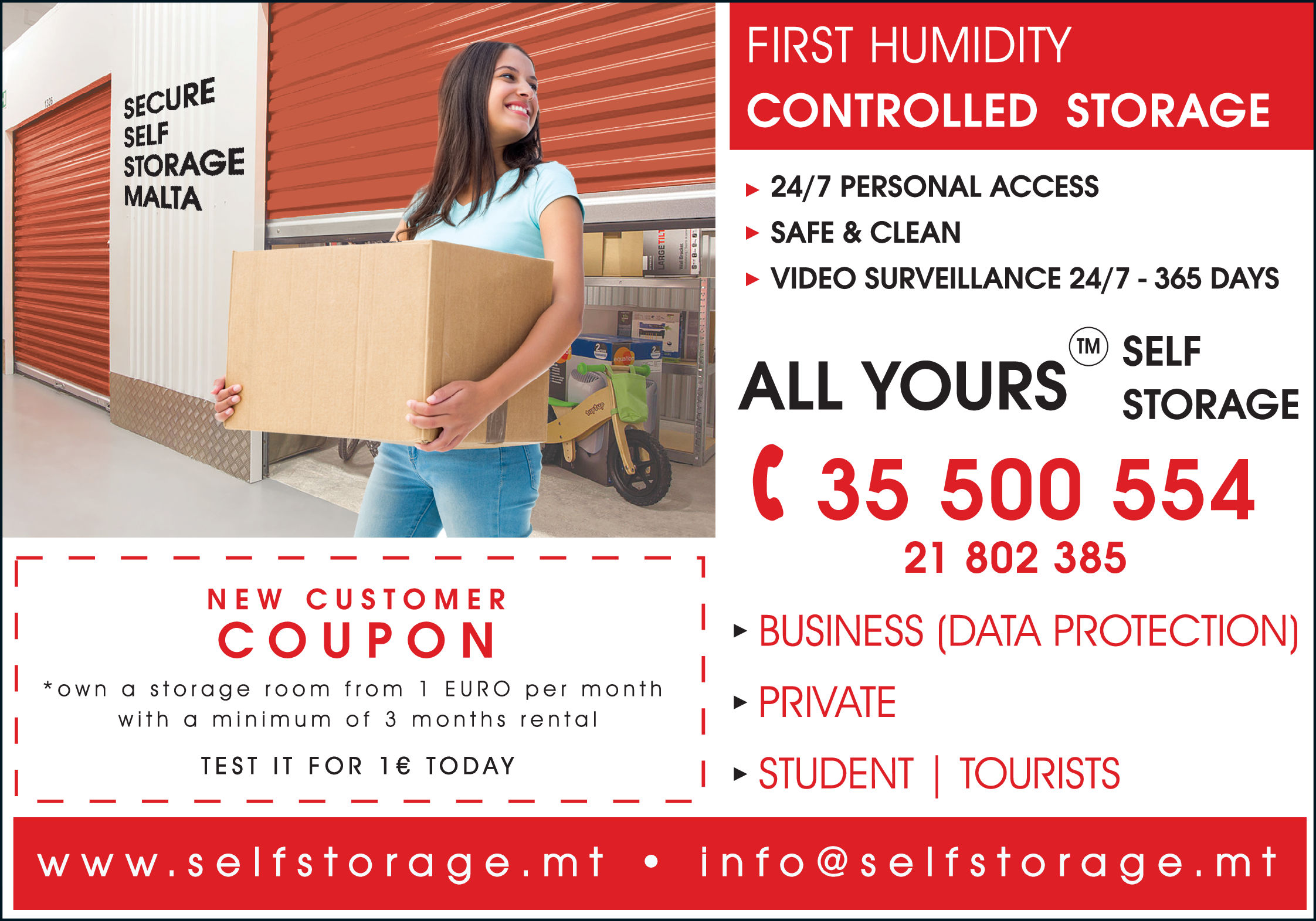 All Yours - Self Storage and Rent - Storage-Household & Commercial