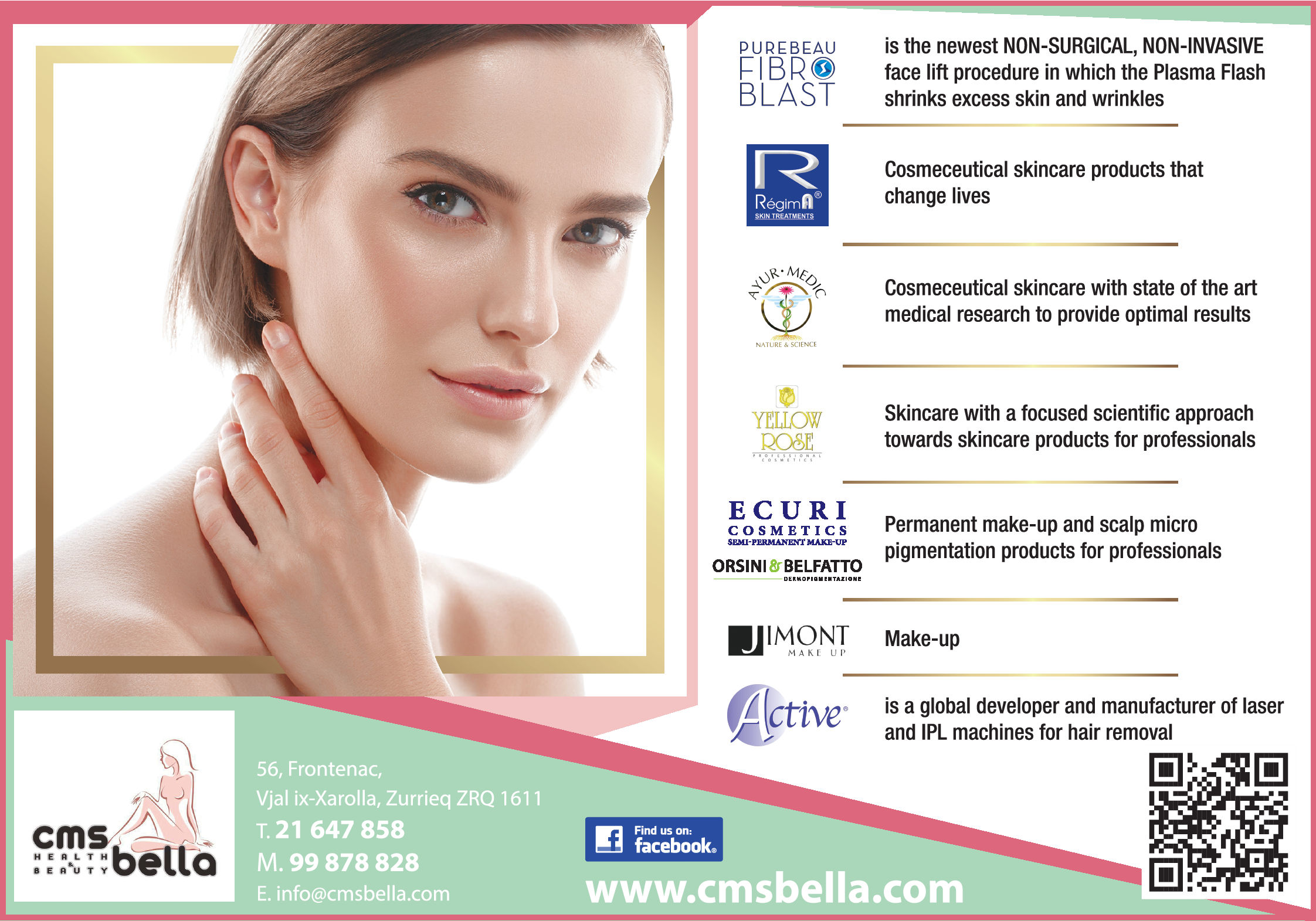 CMS Bella - Beauty Products